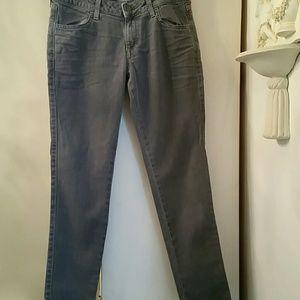 Siwy skinny ankle grey jean sz 27